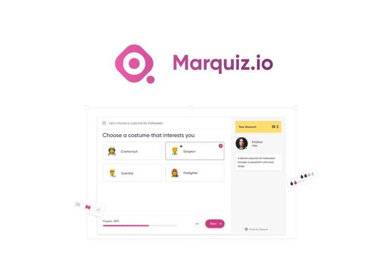 Marquiz: Quickly create an online quiz to engage your audience